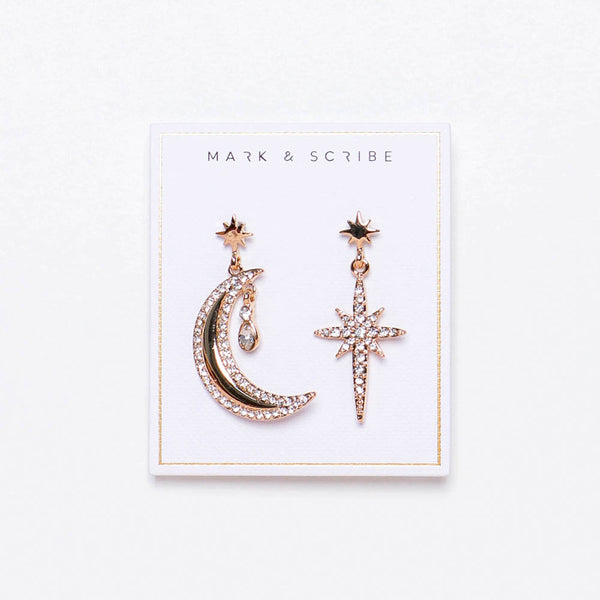 Luna Glow Earrings - Gold