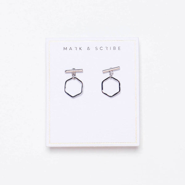 Harmony Earrings - Silver