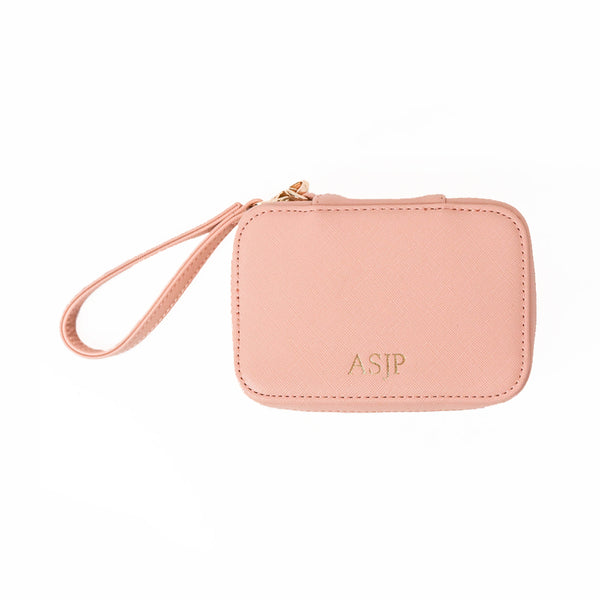 Small Pink Cosmetic Case