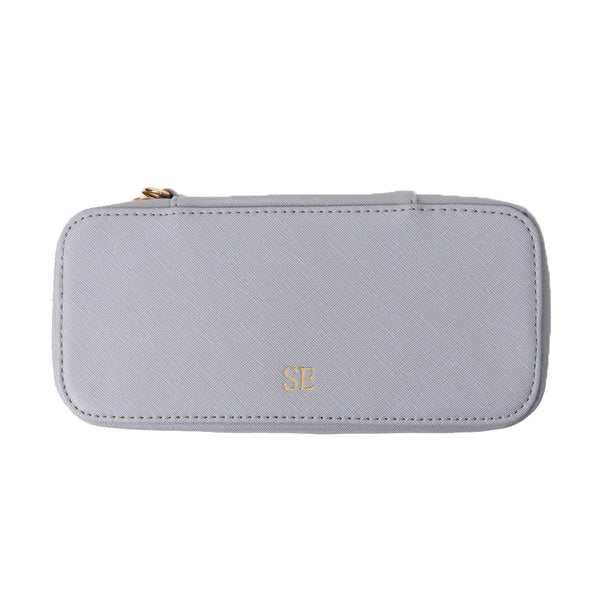 Medium Blue-Grey Cosmetic Case