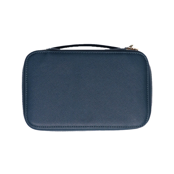 Large Dark Teal Cosmetic Case