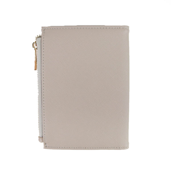 Taupe Passport Wallet