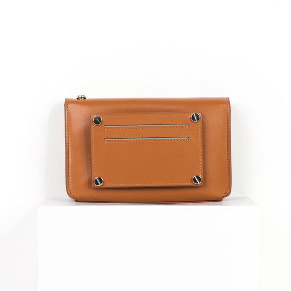 Milly Multi-Wear Bag - Caramel Tan