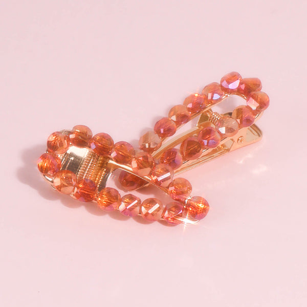 Sunset Jewel Hair Clips