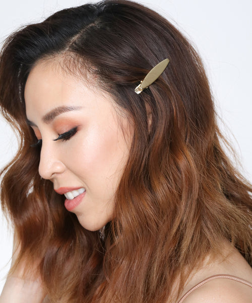 Minimalist Gold Hair Clips