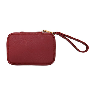 Small Red Cosmetic Case
