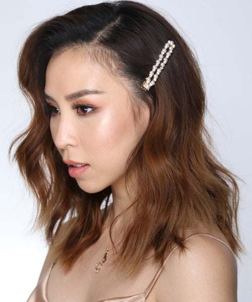 Vintage Glam Long Hair Clips