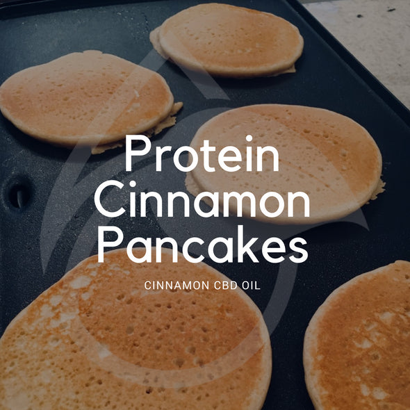 How to Make High Protein Cinnamon Pancakes