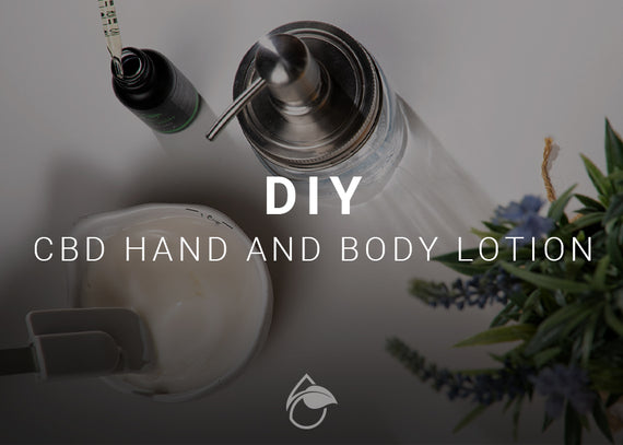 DIY CBD Hand and Body Lotion