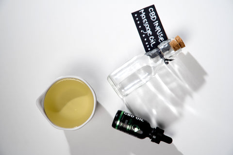 DIY CBD Massage Oil Ingredients