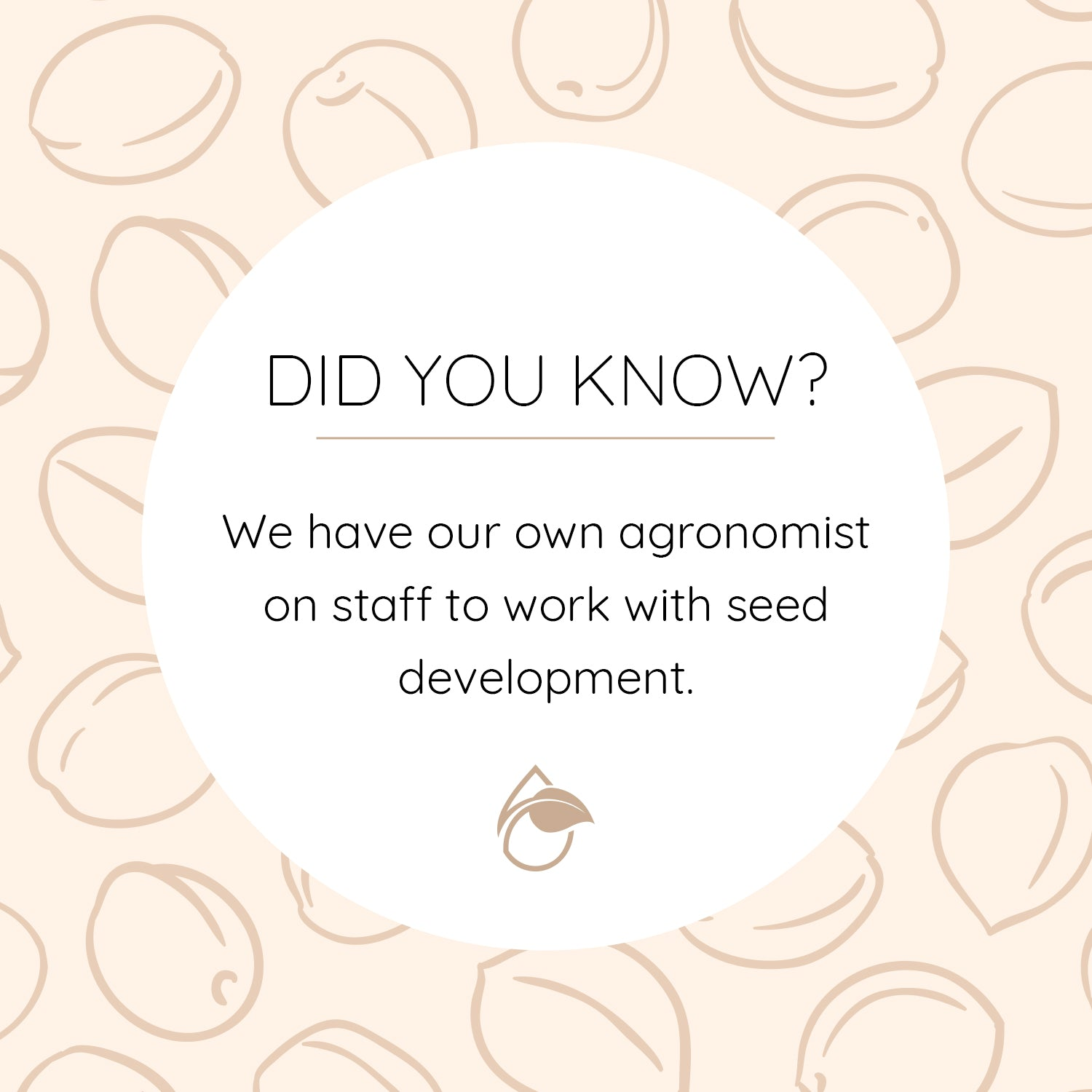DYK - Agronomist and Seeds