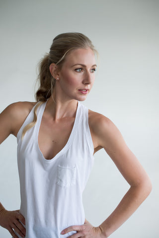 Chloe Tank Top - White