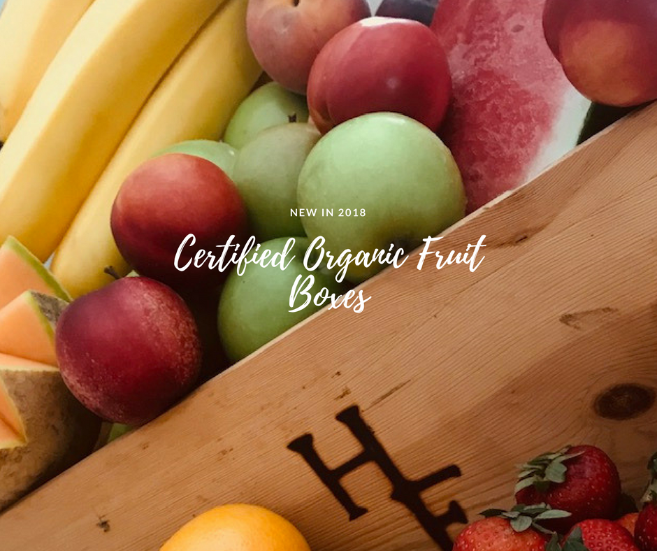 Certified Organic Fruit Box ~ Fortnightly