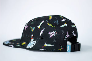 Space Trip 5 Panel Hat - Adventure Brand