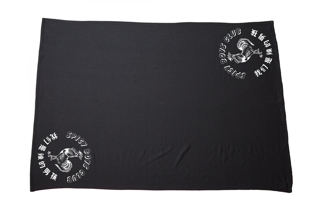 Spicy Boys Club Fleece Blanket