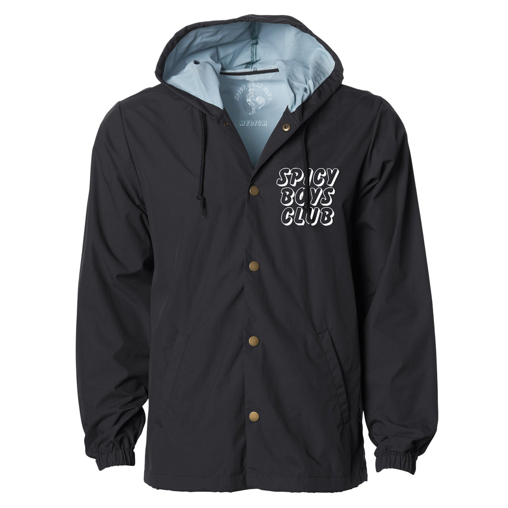 Spicy Boys Club Original Hooded Coaches Jacket - Adventure Brand