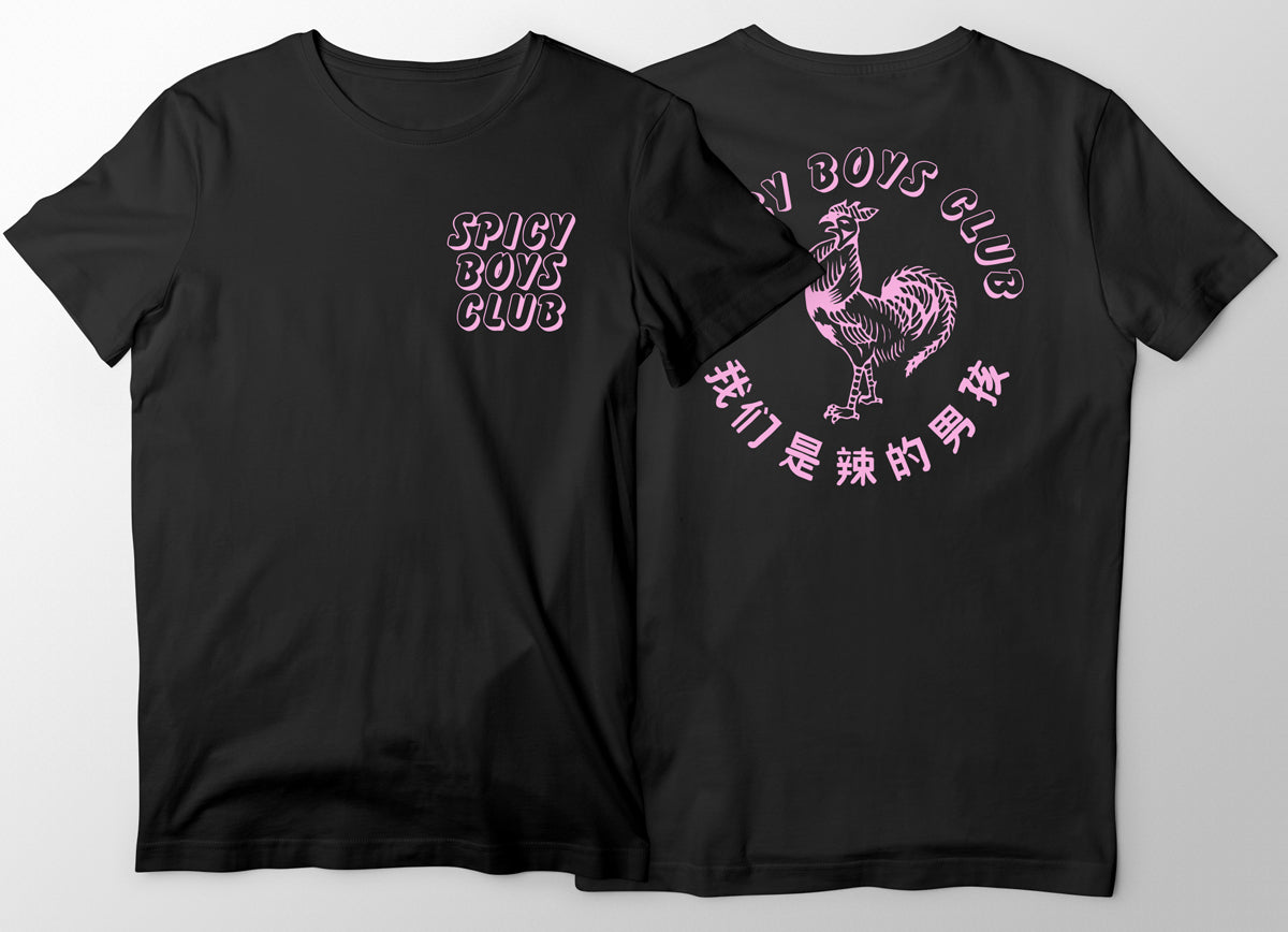 Spicy Boys Club Tee - Night Club Edition - Adventure Brand