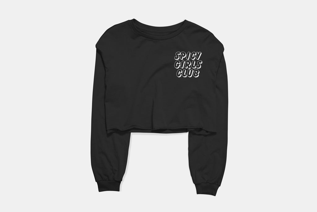Spicy Girls Club Cropped Long Sleeve Tee - Adventure Brand