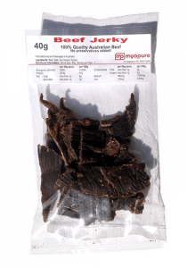 beef jerky protein snack