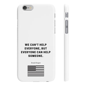 Ronald Reagan - Slim Phone Case