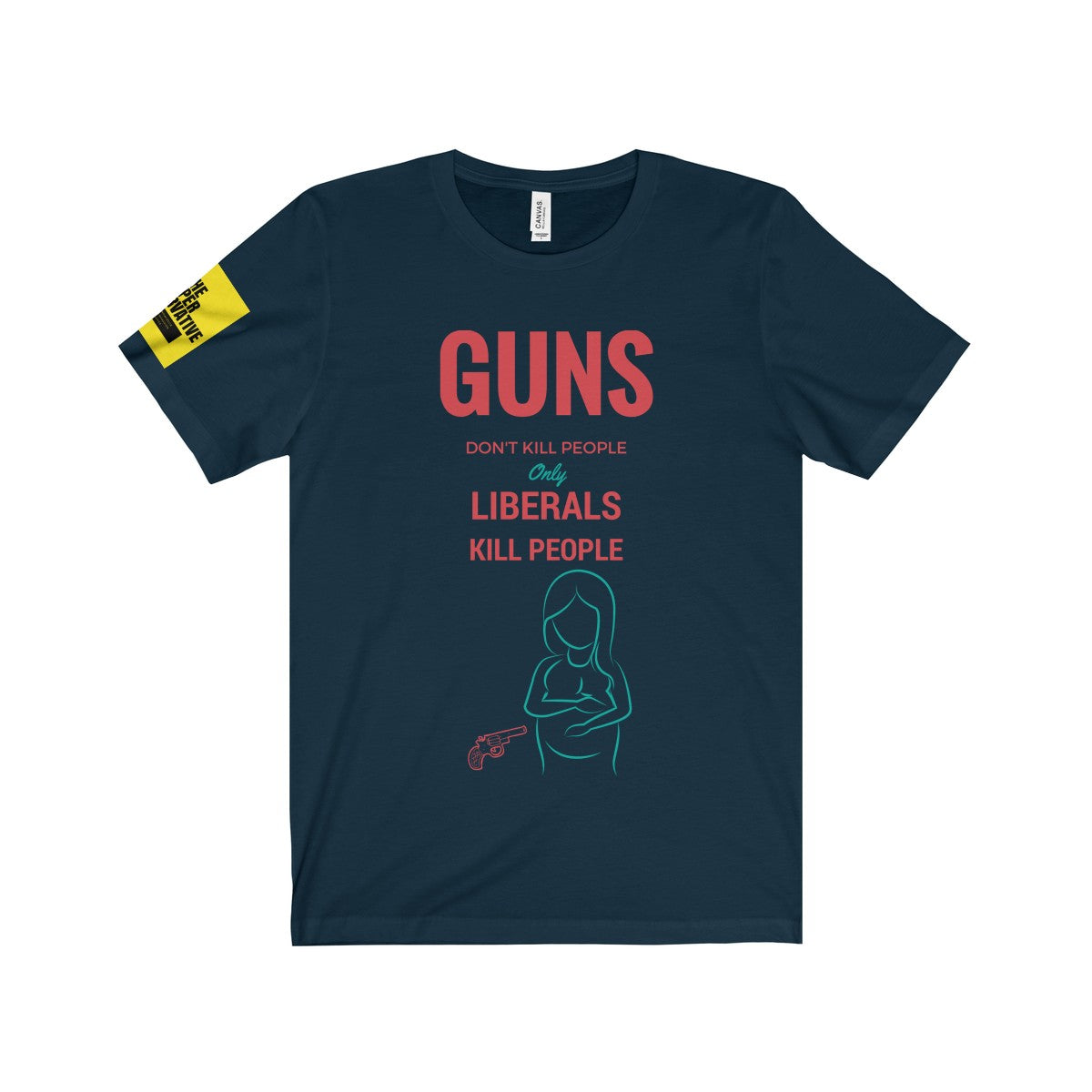 Guns Dont Kill People Shirt - Pro-Life T-Shirt - Unisex