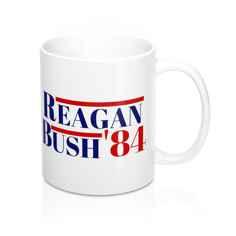 Reagan Bush 84 Mug -11oz