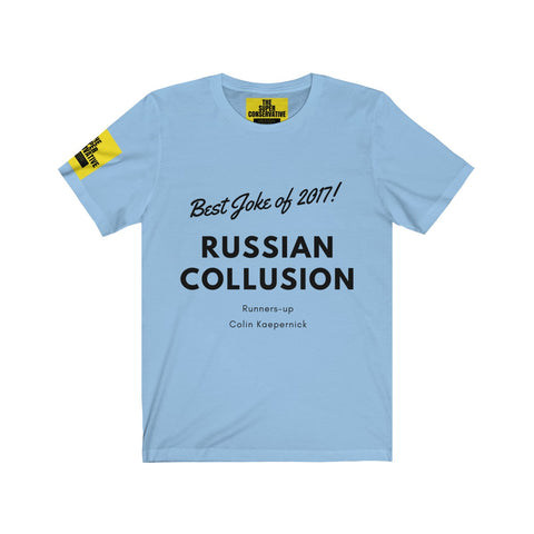 The Best Joke of 2017 T-shirt - Unisex