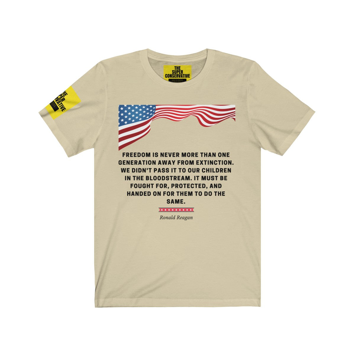 Ronald Reagan - Passing On Freedom - T-shirt - Unisex