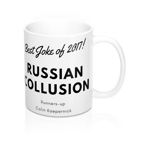 Best Joke of 2017 - Mug 11 oz