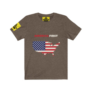 America First T-shirt (Dark Edition) - Unisex