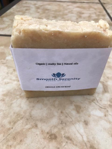 Orange Oatmeal Soap