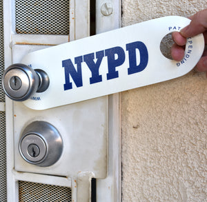 """NYPD"" Synthetic Rubber DoorJamm"