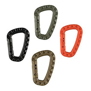 Hard Polymer D-Ring Carabiners