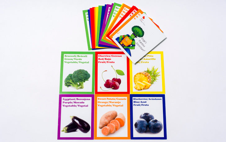 Fruit and Vegetable Cards