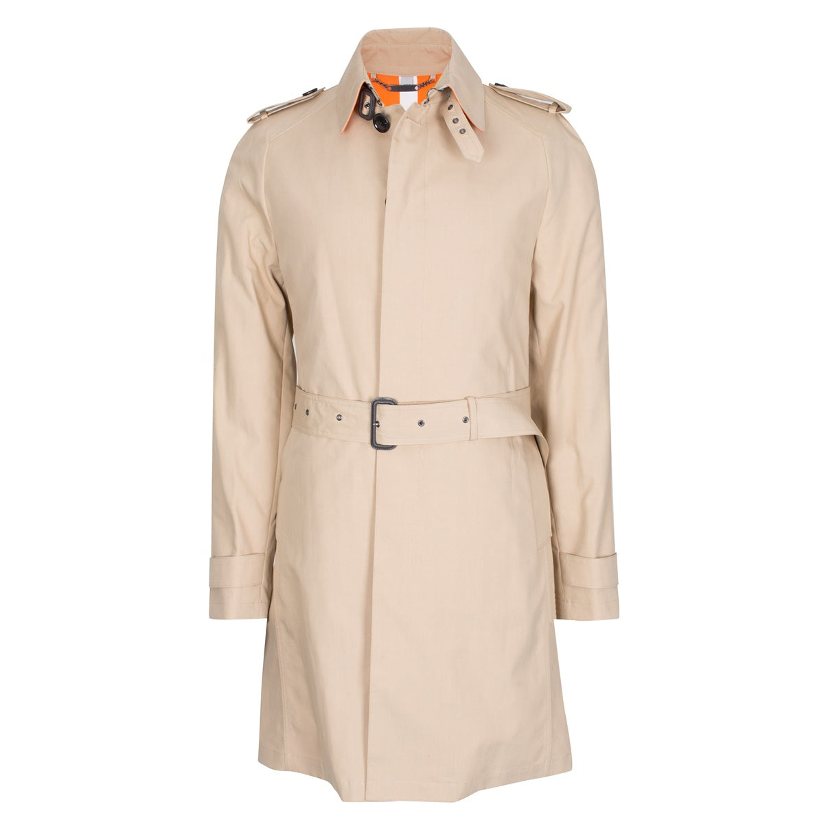 Light Tan Waterproof Belted Mac