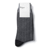 Black & Grey Herringbone Socks