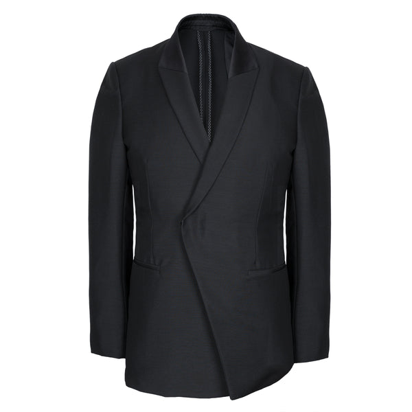 Black Double Breasted Luxury Dinner Jacket