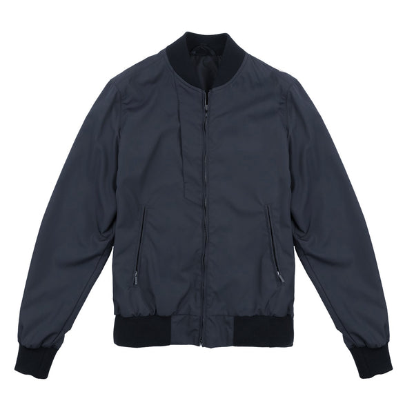 Navy Blue Lightweight Contemporary Jacket