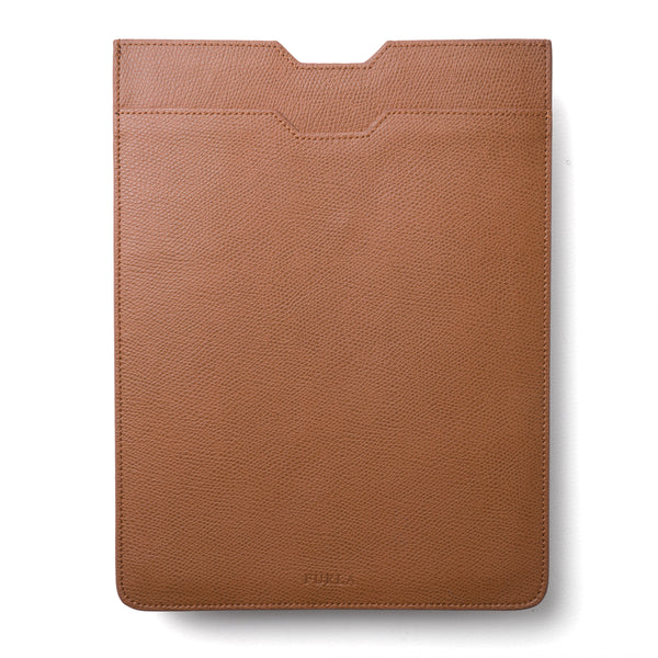 Tan Grained Leather iPad Case