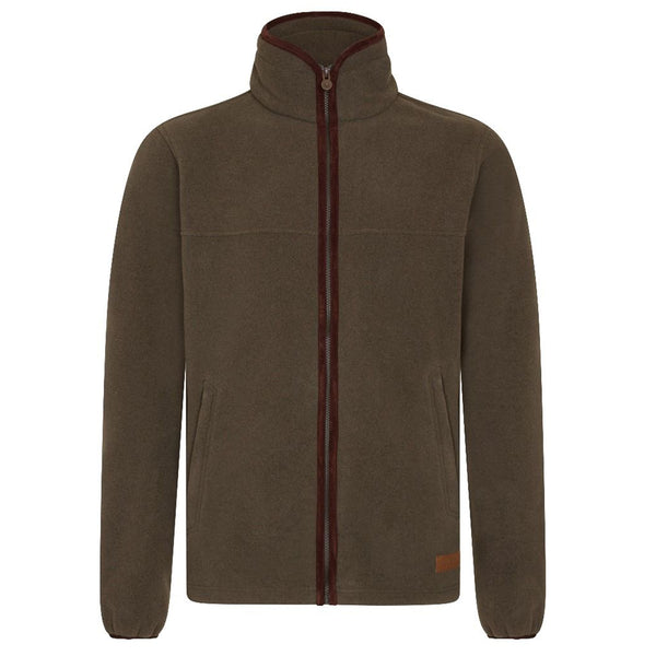 MEN'S ZIP THROUGH FLEECE - FOREST