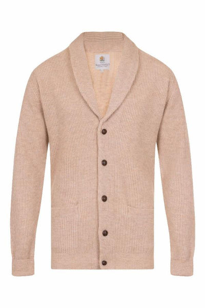 MEN'S CASHMERE CARDIGAN - EWE