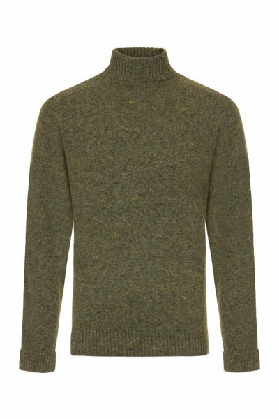 Copy of MEN'S DONEGAL ROLL NECK KNIT -KILLARNEY