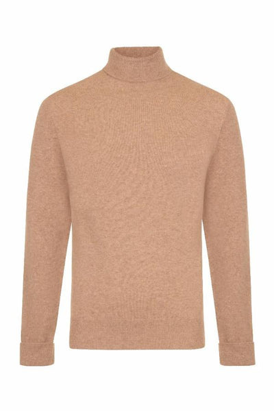 MEN'S ROLL NECK CASHMERE - CROFTER