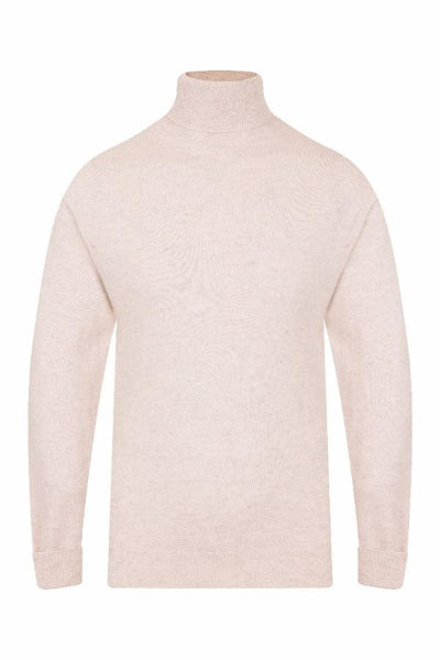 MEN'S ROLL NECK CASHMERE - CHALET