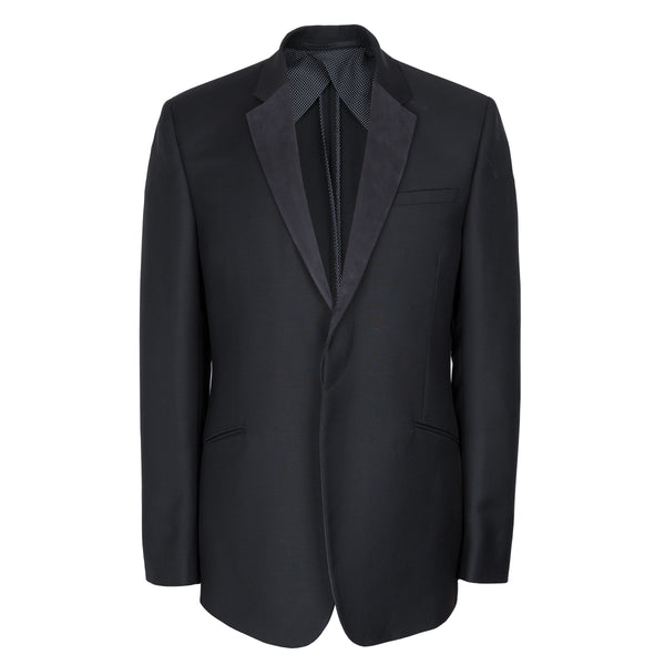 Kilgour Savile Row Luxury Wool & Mohair Black Dinner Suit