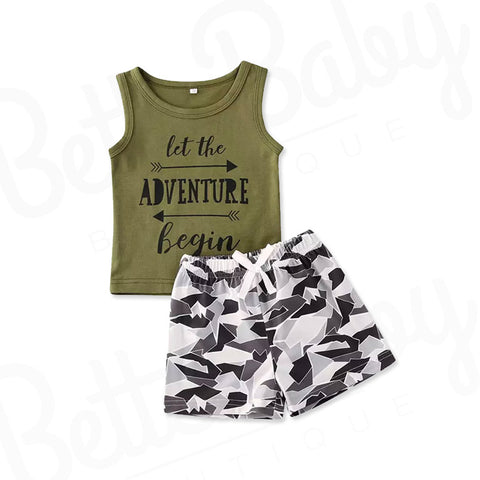 Adventure Baby Boy Outfit