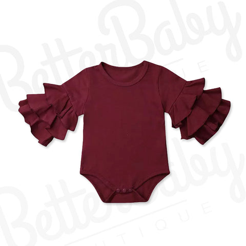 All Sleeve Baby Romper
