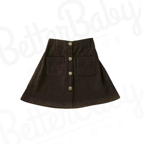 Aubrey High Waisted Baby Girl Skirt