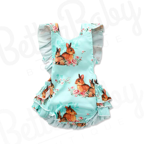 Be hoppy Baby Girl Romper