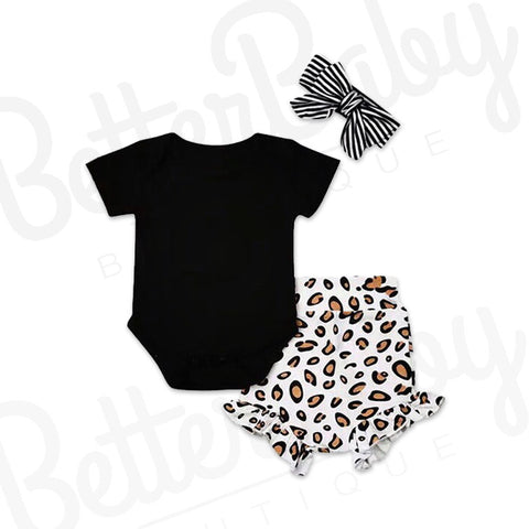 Been Spotted Baby Girl Outfit